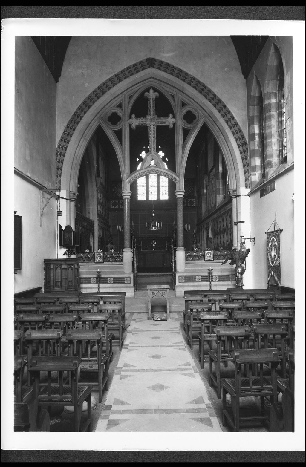 Looking East, Cathedral of the Isles, Millport, Isle of Cumbrae.