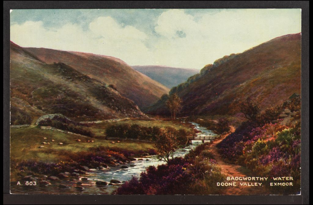 Badgeworthy Water, Exmoor.