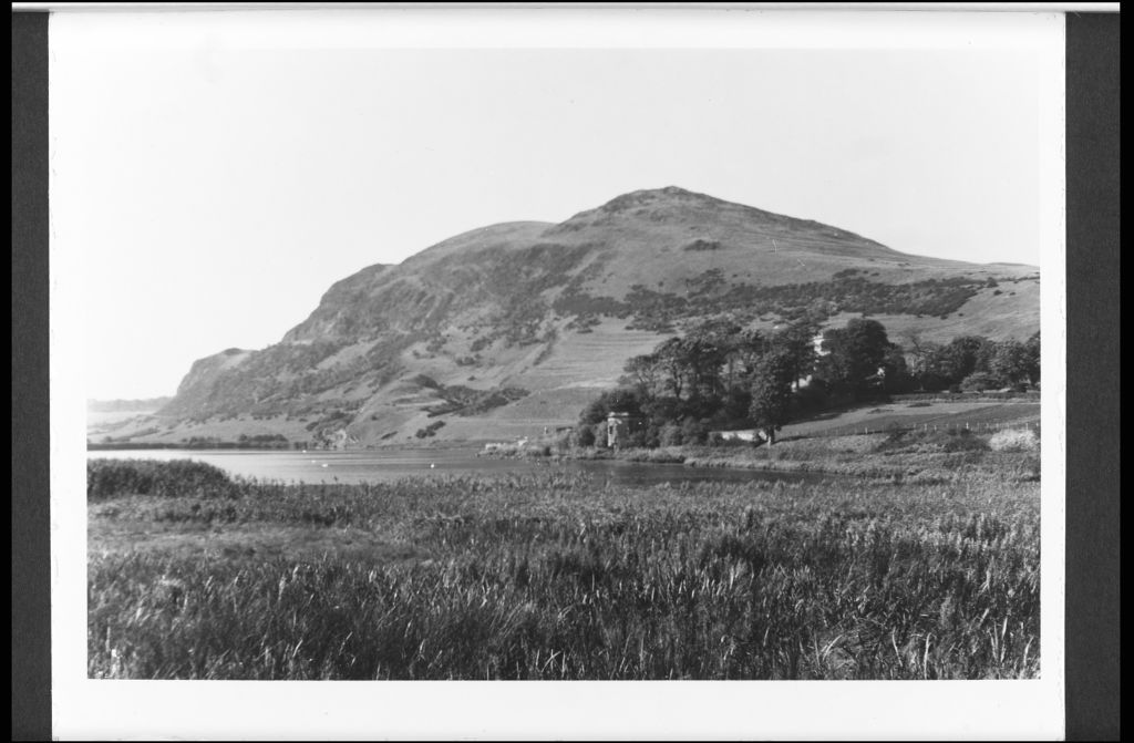 Duddingston Loch and King Arthur's Seat
