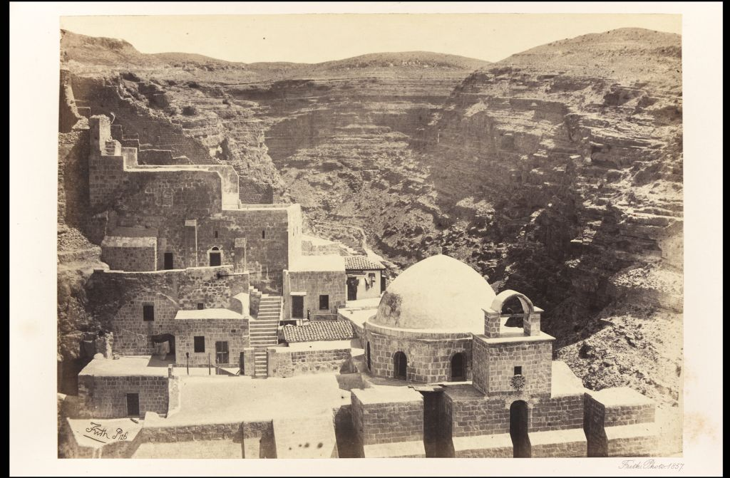 Convent of Mar-Saba.