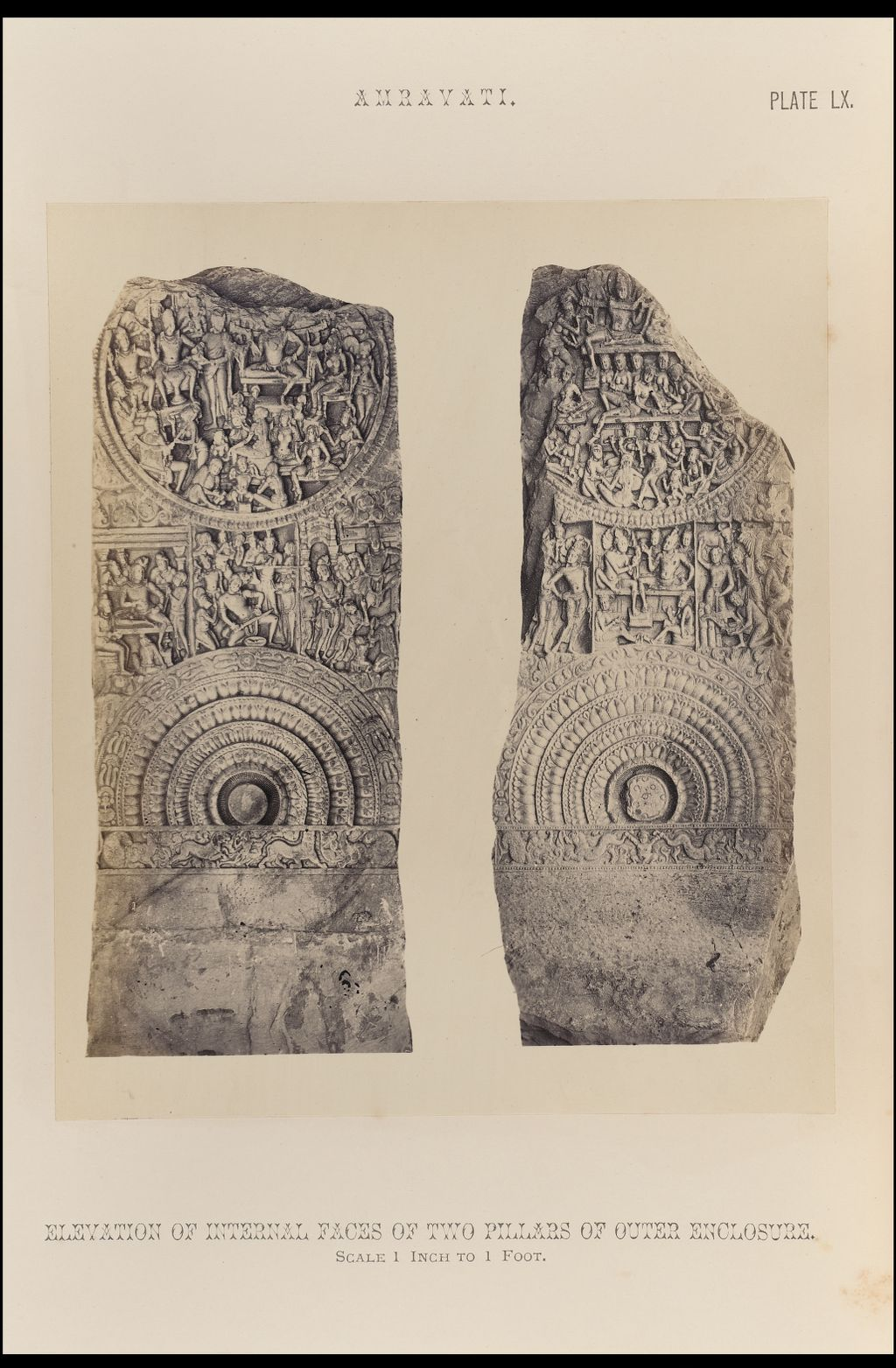 Outer Enclosure Pillars,Amravati