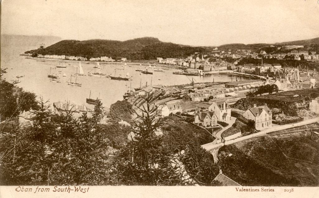 Oban from South-West.
