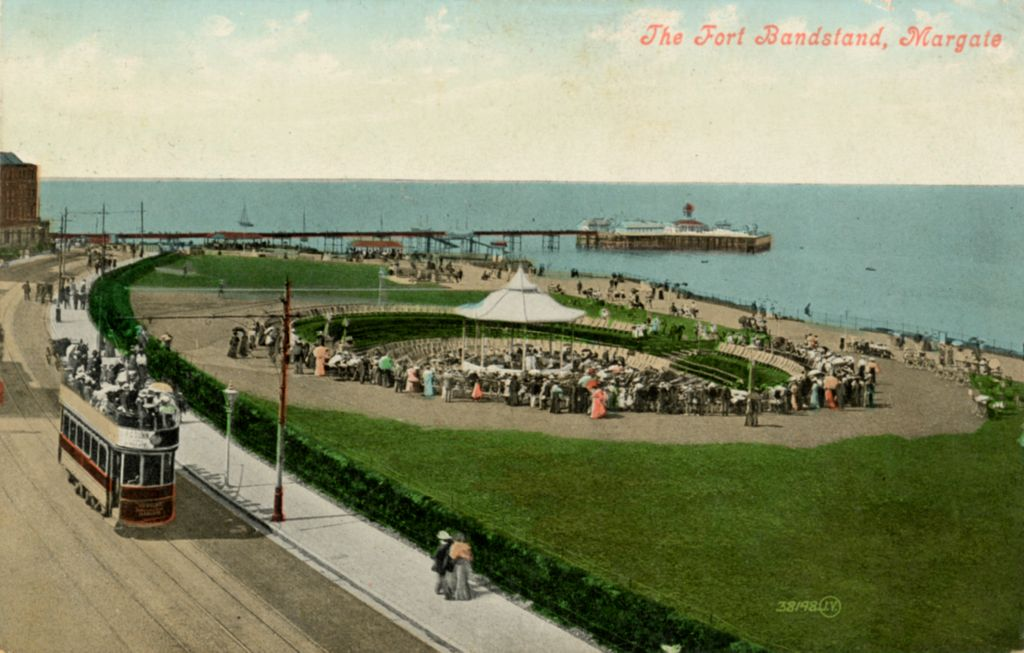 The Fort Bandstand, Margate.