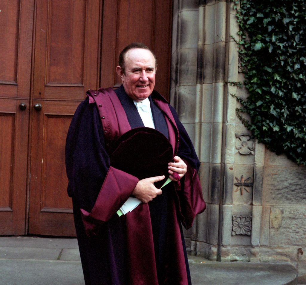 Andrew Neil, Rector.