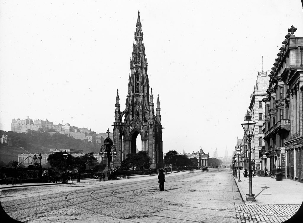 Scott Monument, Edinburgh.
