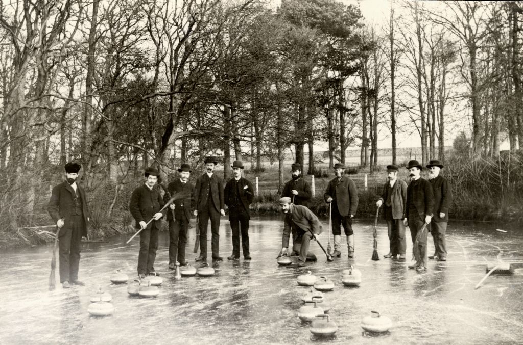 Curlers on the Pond.