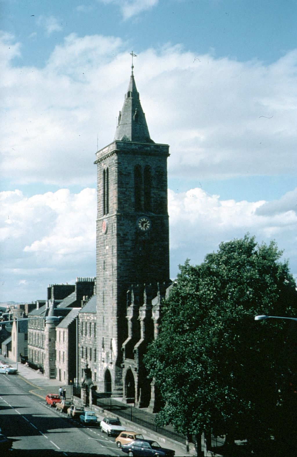 St Salvators Tower, St Andrews.