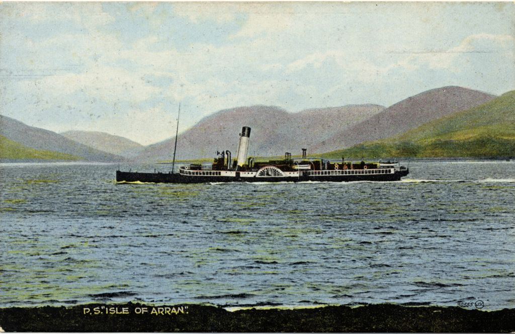 R. N. W. Smith's Postcards of Misc. Clyde, tinted