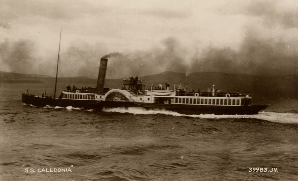 R. N. W. Smith's Postcards of Caledonia Steamers