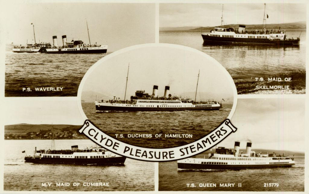 R. N. W. Smith's Postcards of Misc. Clyde and others