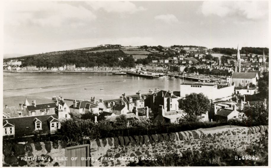 Rothesay, Isle of Bute.