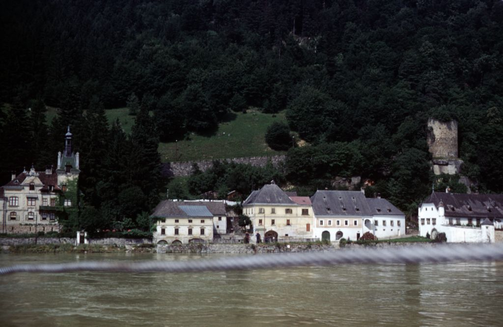 A Village on the Danube.