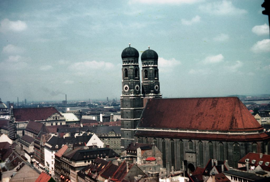 Frauenkirche, Munich.