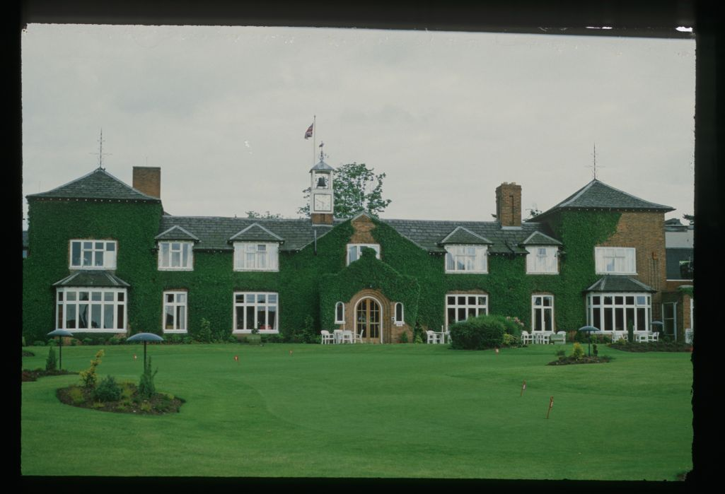The Clubhouse at The Belfry during the 1989 Ryder Cup