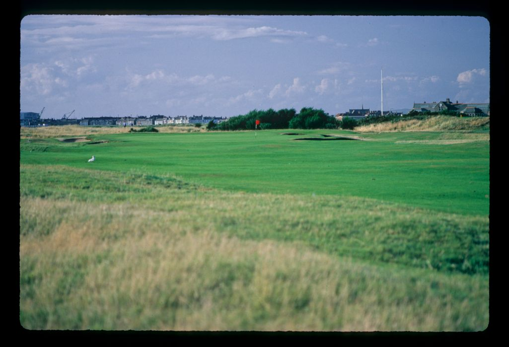 The golf course at Royal Troon Golf Club