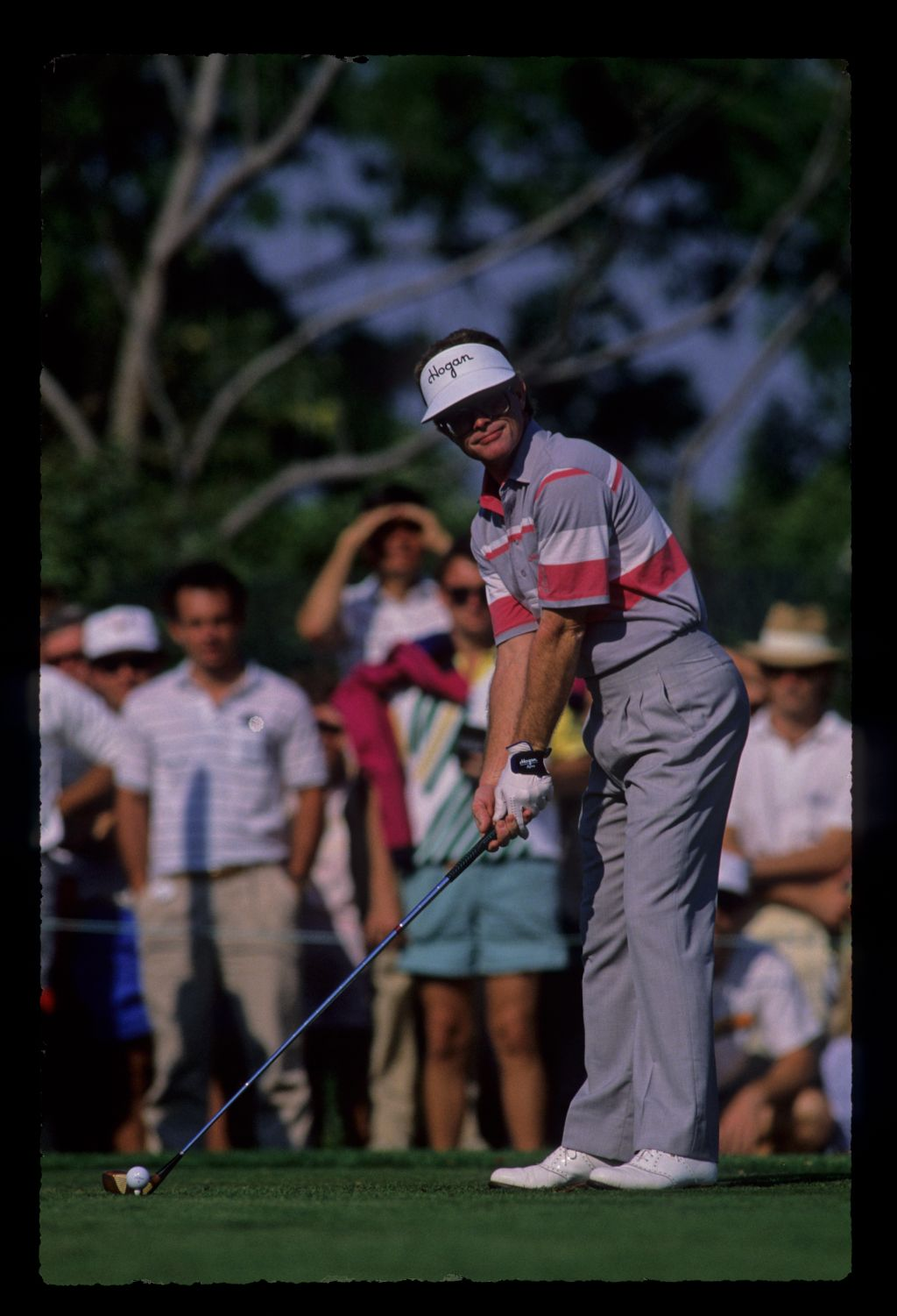 Tom Kite prepares to tee off at the 1989 Bay Hill Nestle Invitational Golf Championship