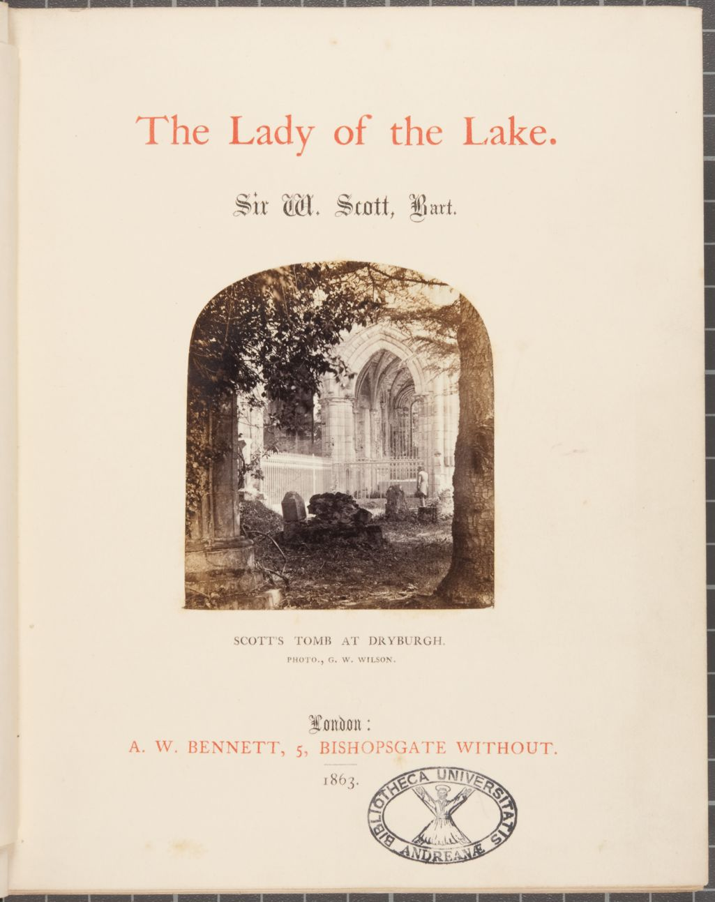 The Lady of the Lake.
