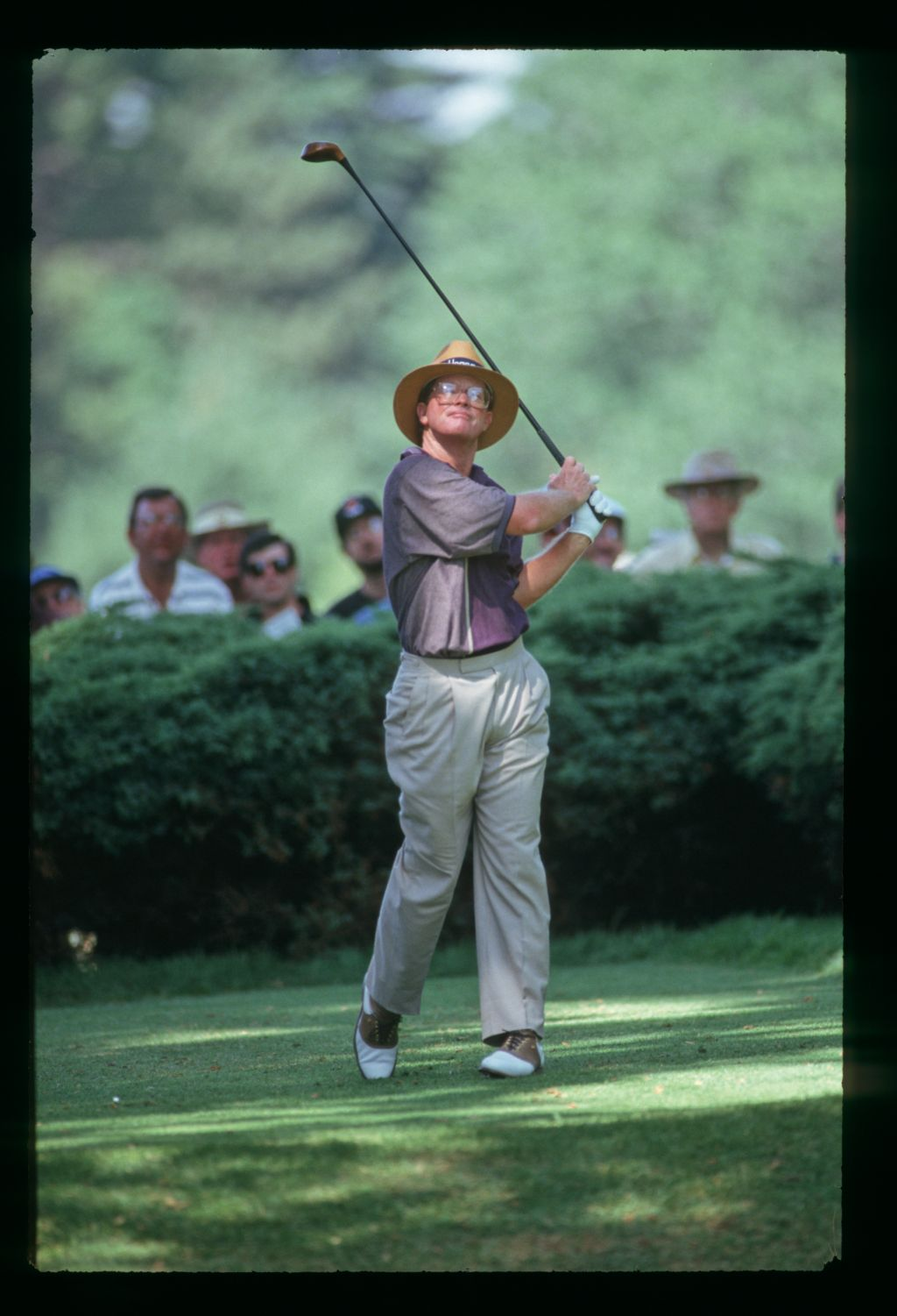Tom Kite tees off at the 1993 United States Open Championship
