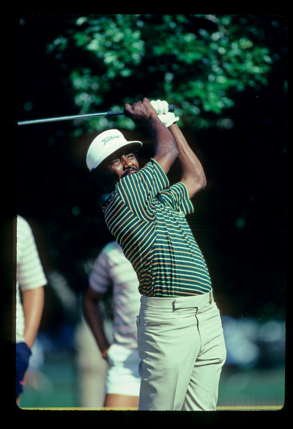 Calvin Peete plays the 1982 Players Championship at Ponte Vedra