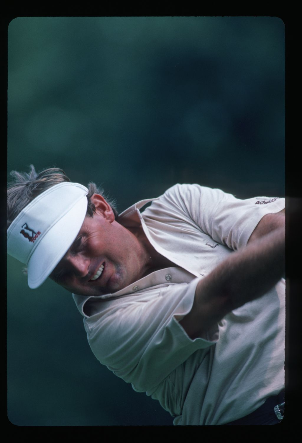 Lanny Wadkins plays his way to a 2nd place finish at the 1986 NEC World Series of Golf at Firestone