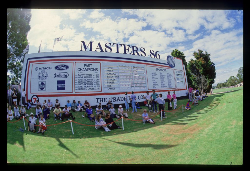 Australian Masters Golf Tournament