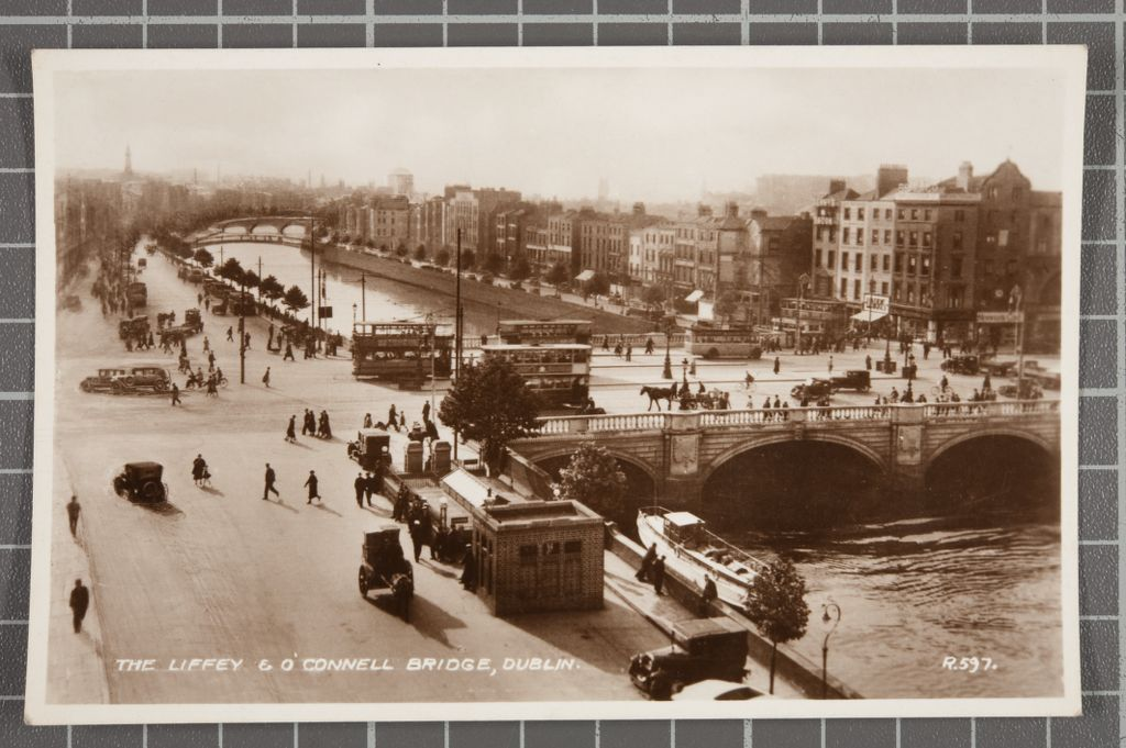The Liffey and O'Connell Bridge.