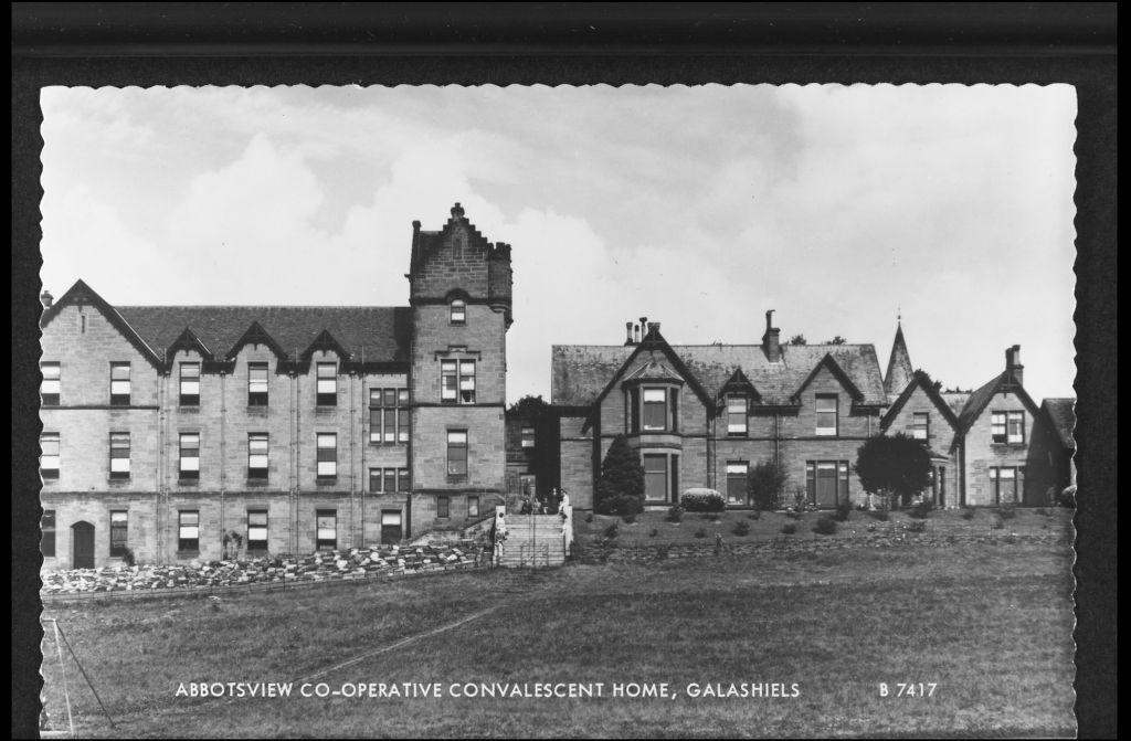 Abbotsview Co-operative Convalescent Home, Galashiels.
