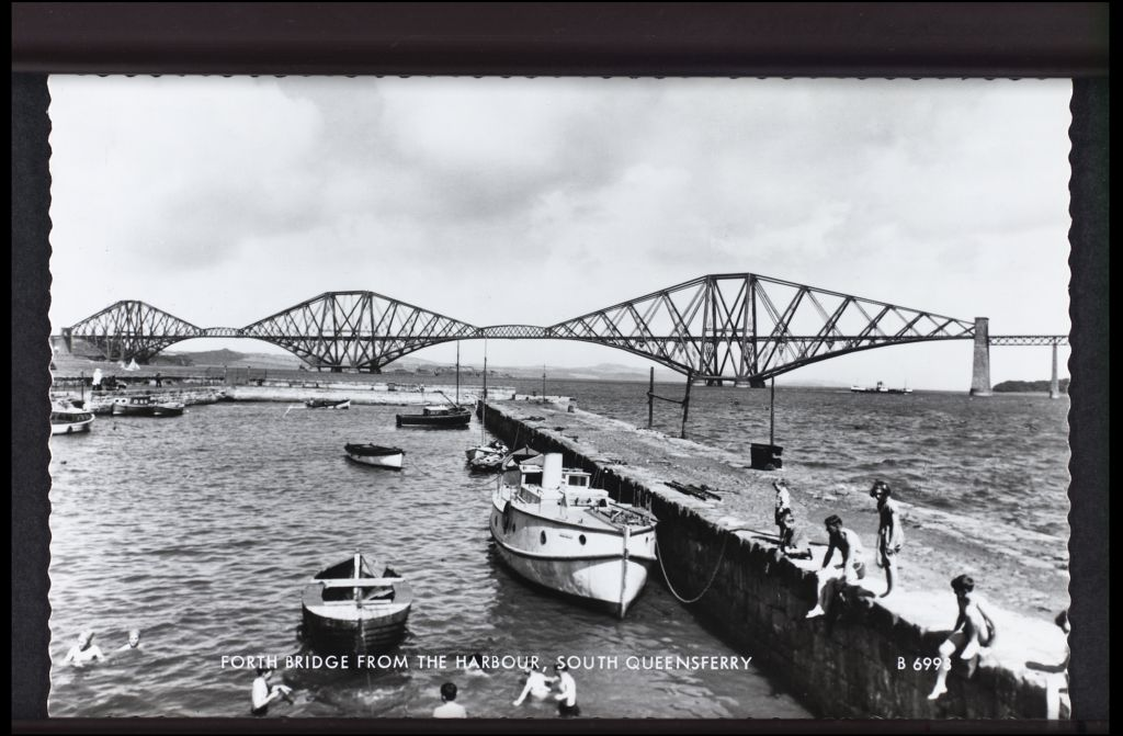 Forth Bridge from the Harbour, South Queensferry.