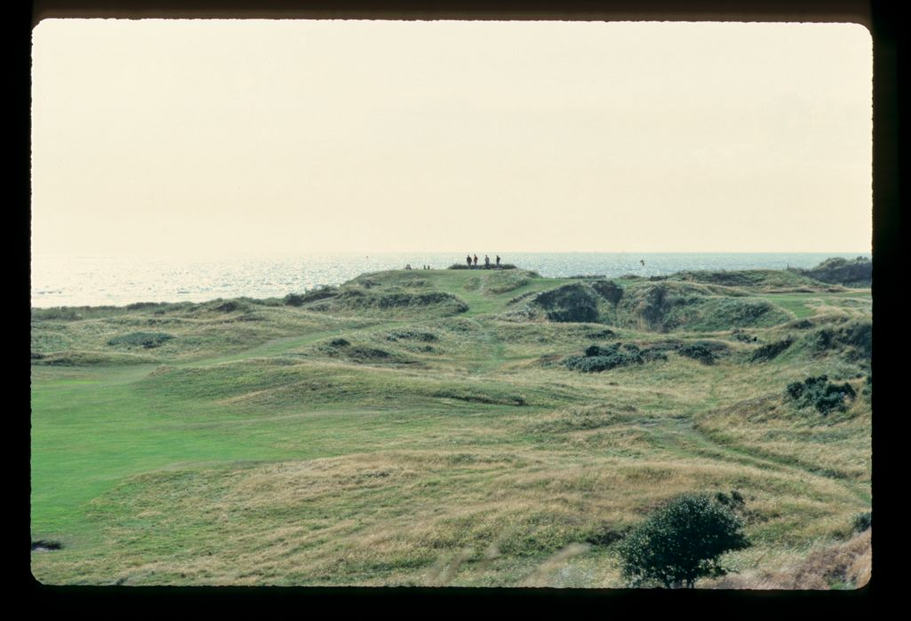 The wild linksland of Royal Troon
