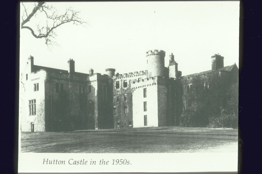 Hutton Castle in the 1950s.