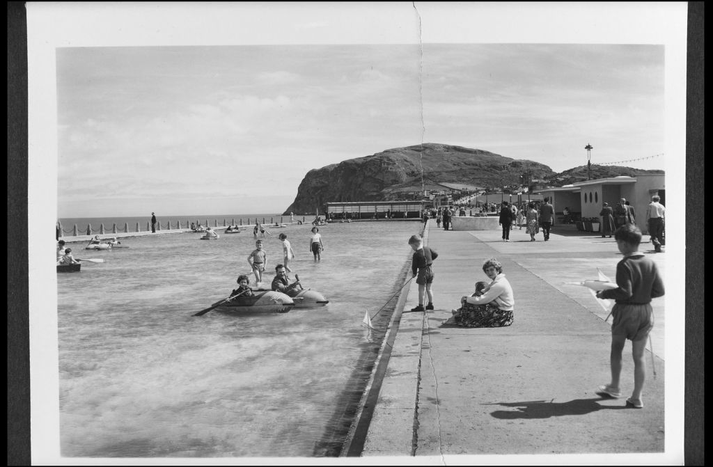 Children's Pool Craig-y-Don, Llandudno.