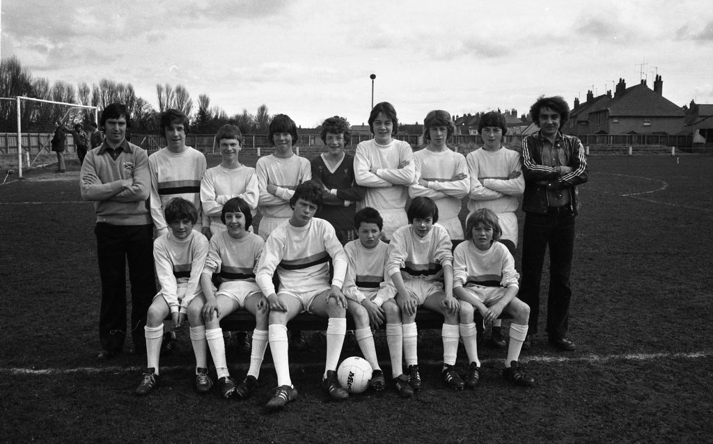 The St Andrews Colts Boys Football Club team.
