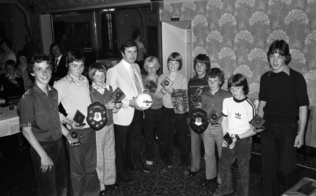 The St Andrews Colts Football Club awards.