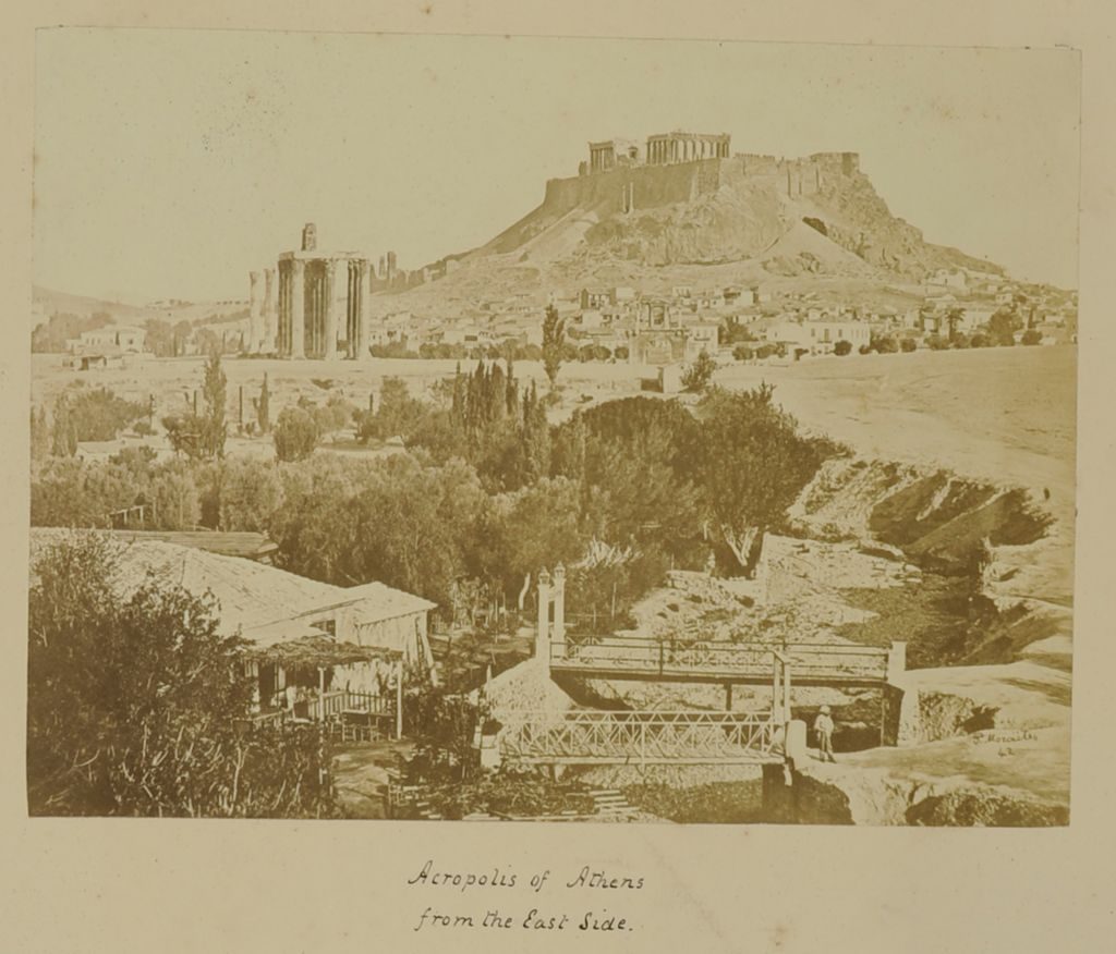 Acropolis of Athens / from the East Side