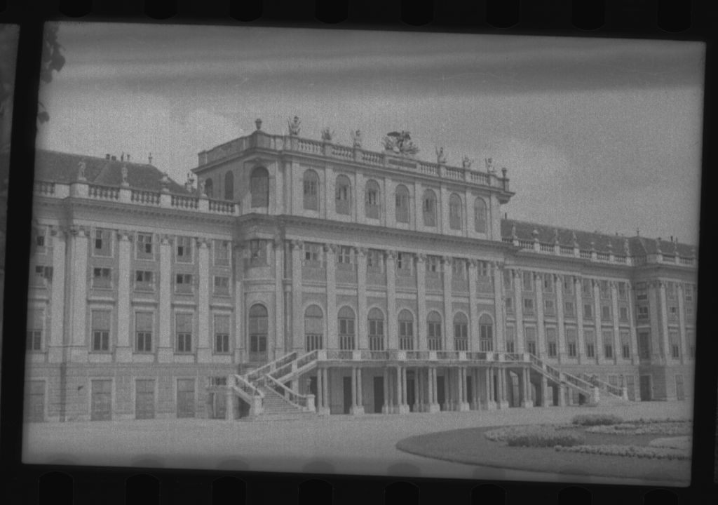 Schonbrunn Palace from the Park, Vienna.