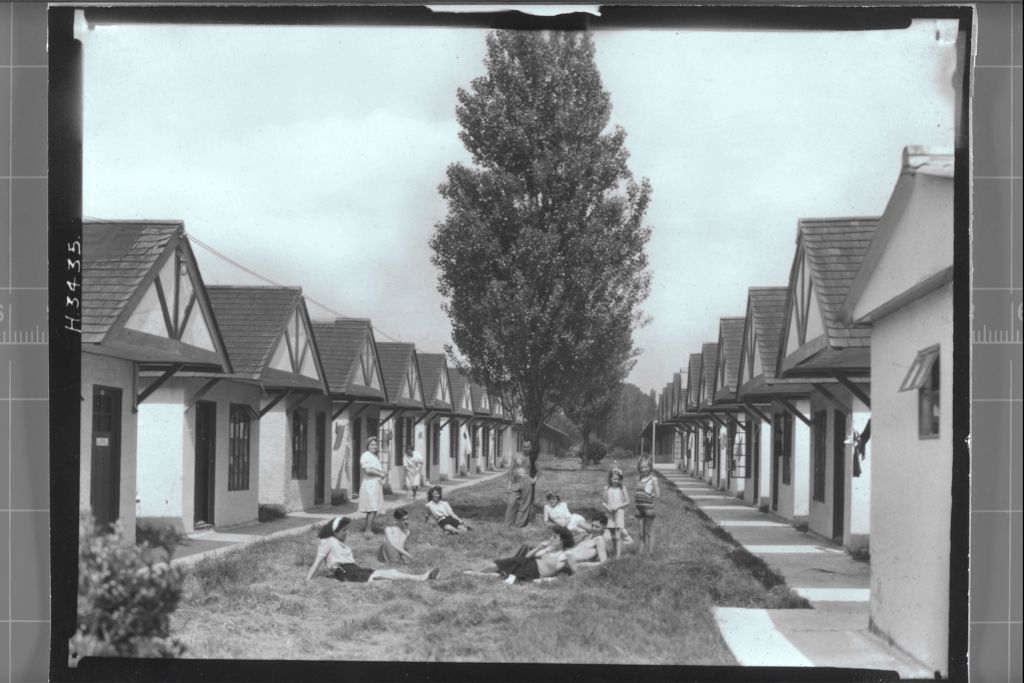 Chalets,Dovercourt Holiday Camp.