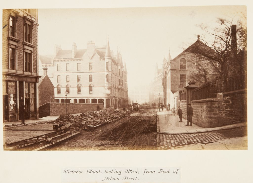 Victoria Road, looking West, from Foot of Nelson Street [Dundee].