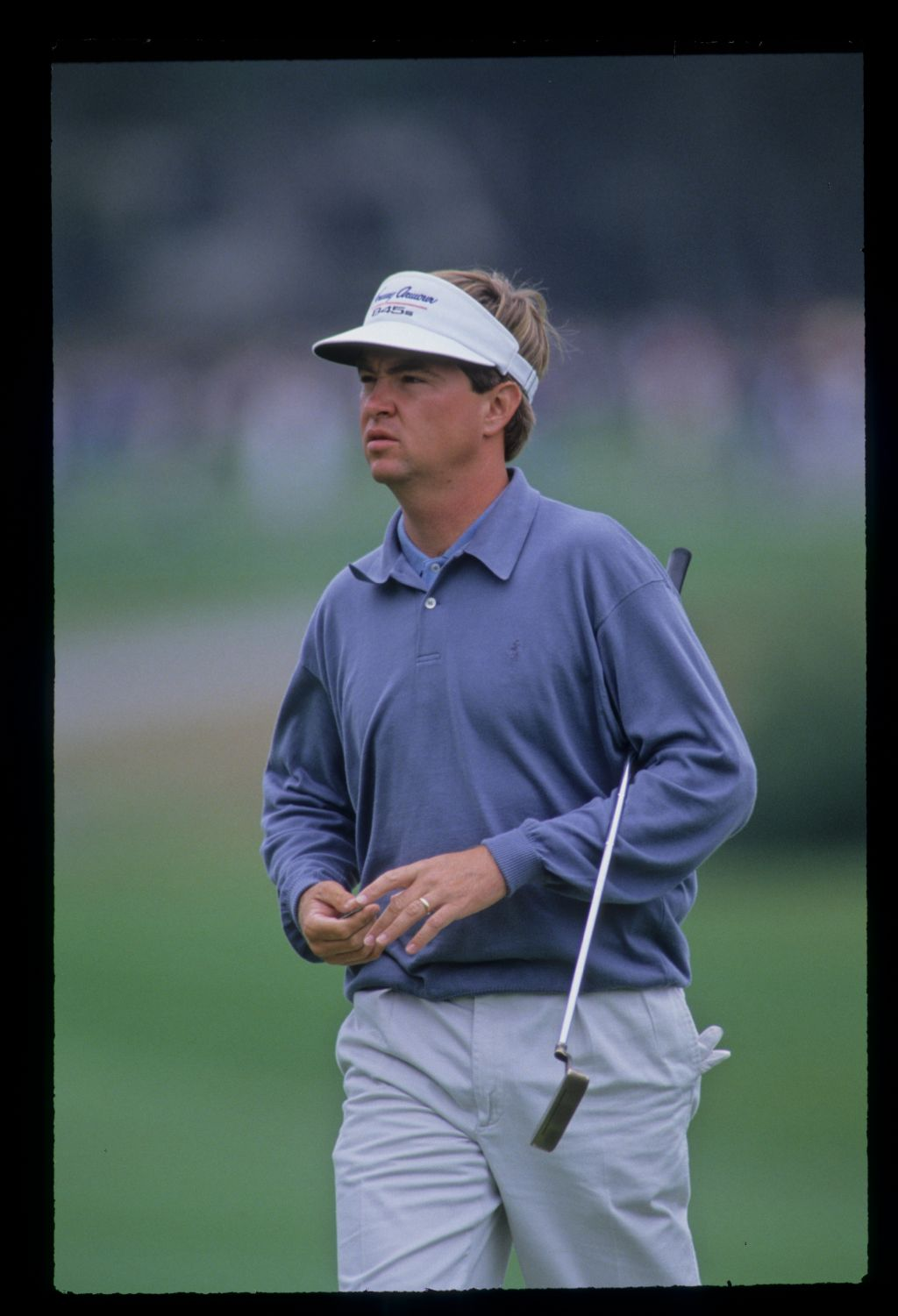 Davis Love III on the green during the 1992 US Open