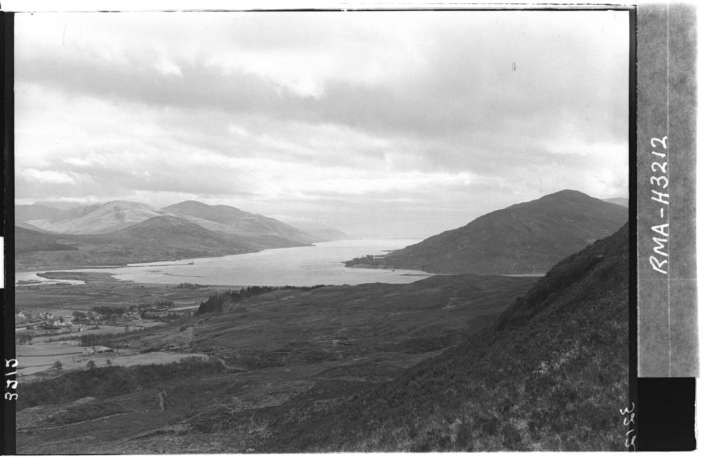Loch Linnhe and environs.