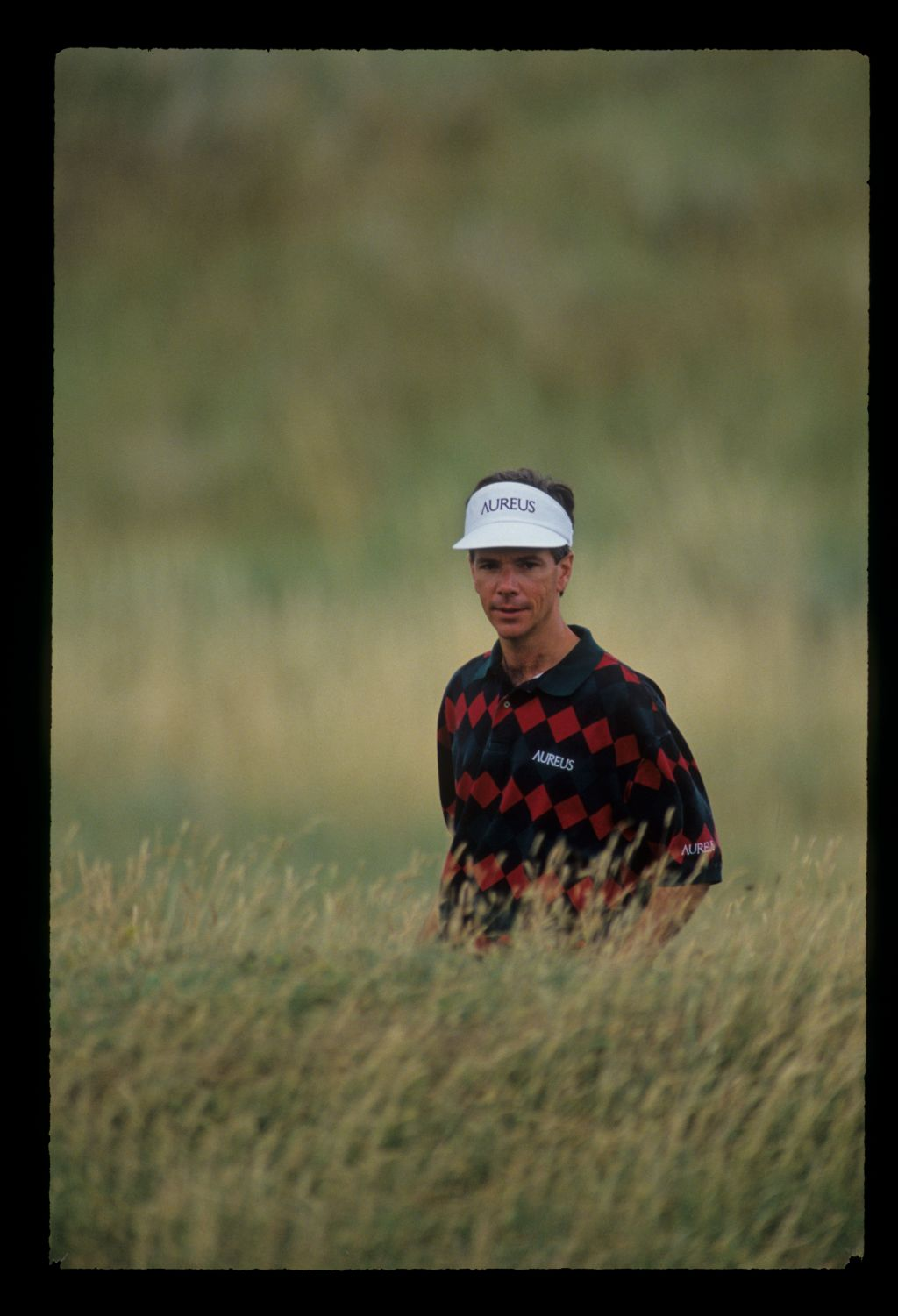 Larry Mize in deep rough during the 1993 Open Championship
