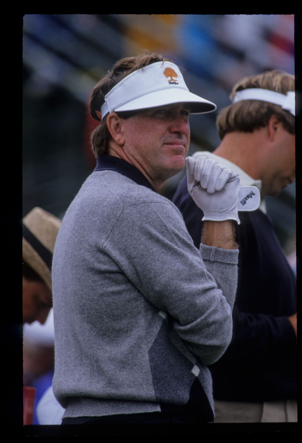 Gil Morgan looking thoughtful on the tee during the 1992 US Open