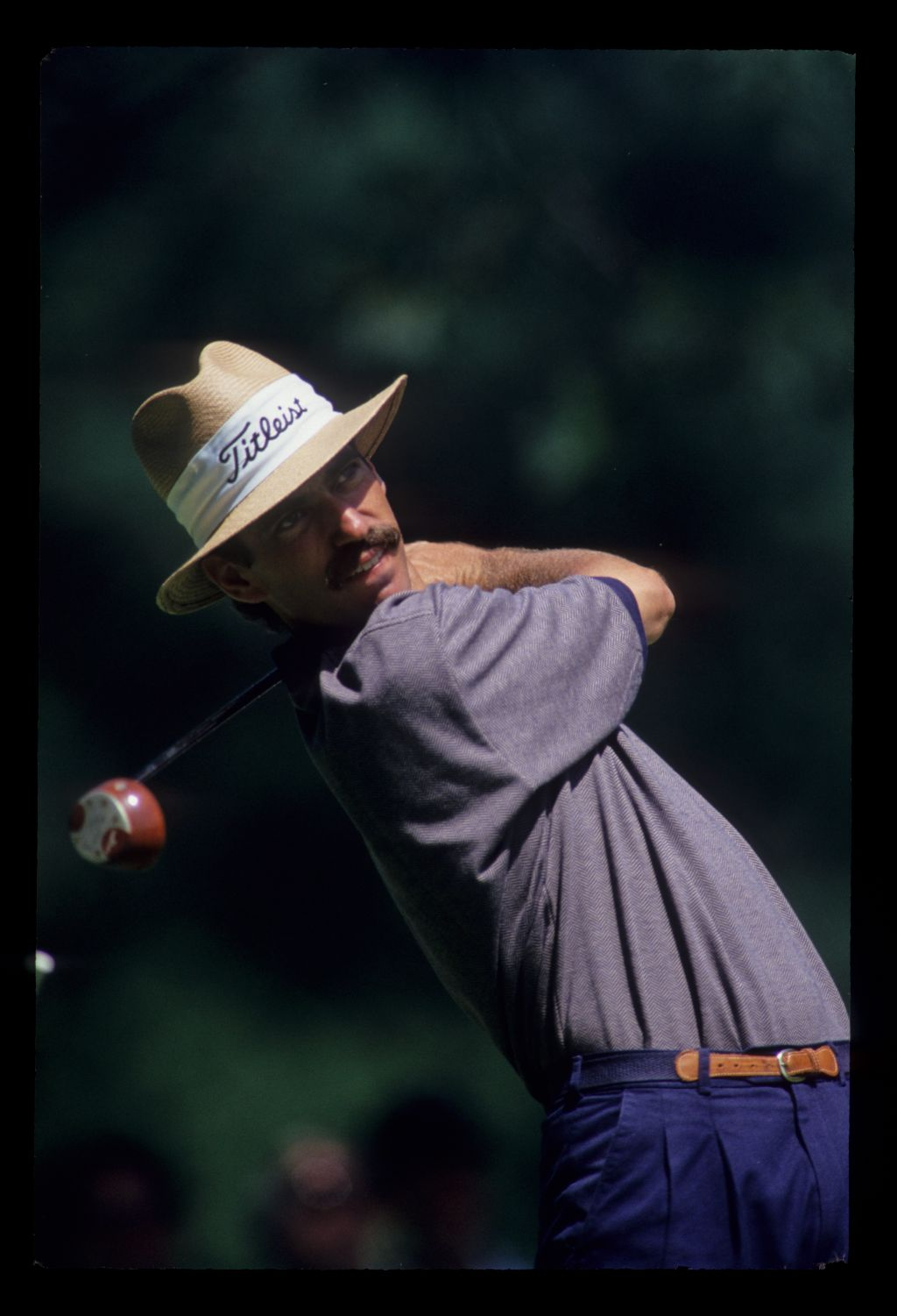 Corey Pavin following through during the 1993 US Open