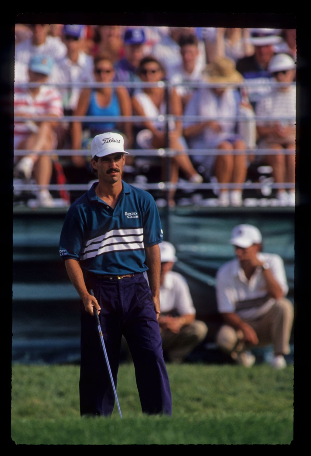 Corey Pavin considering his options during the 1991 US Open