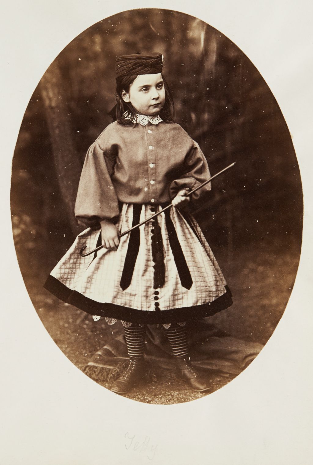 Tetty (portrait of a young girl)