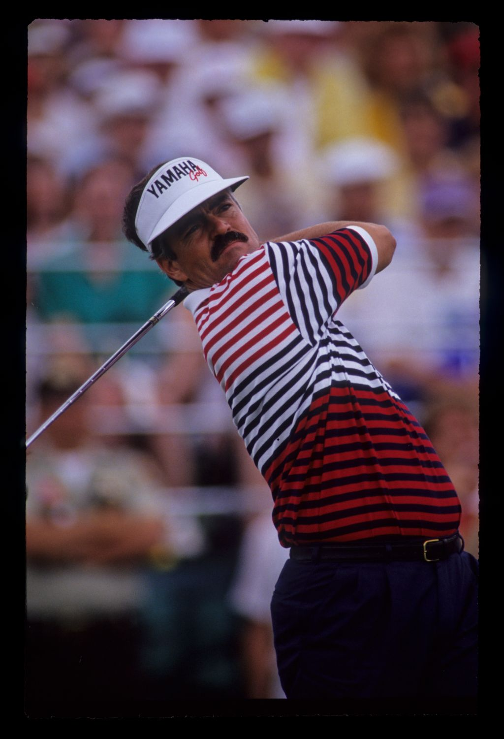 Scott Simpson following through on the tee during the 1991 US Open