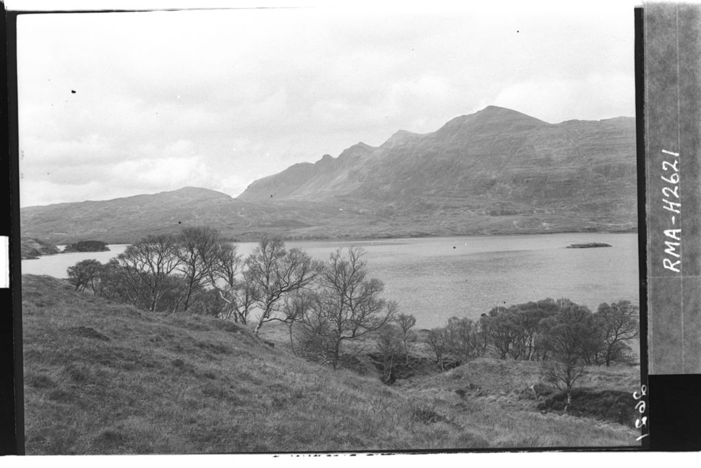View across Loch Assynt.