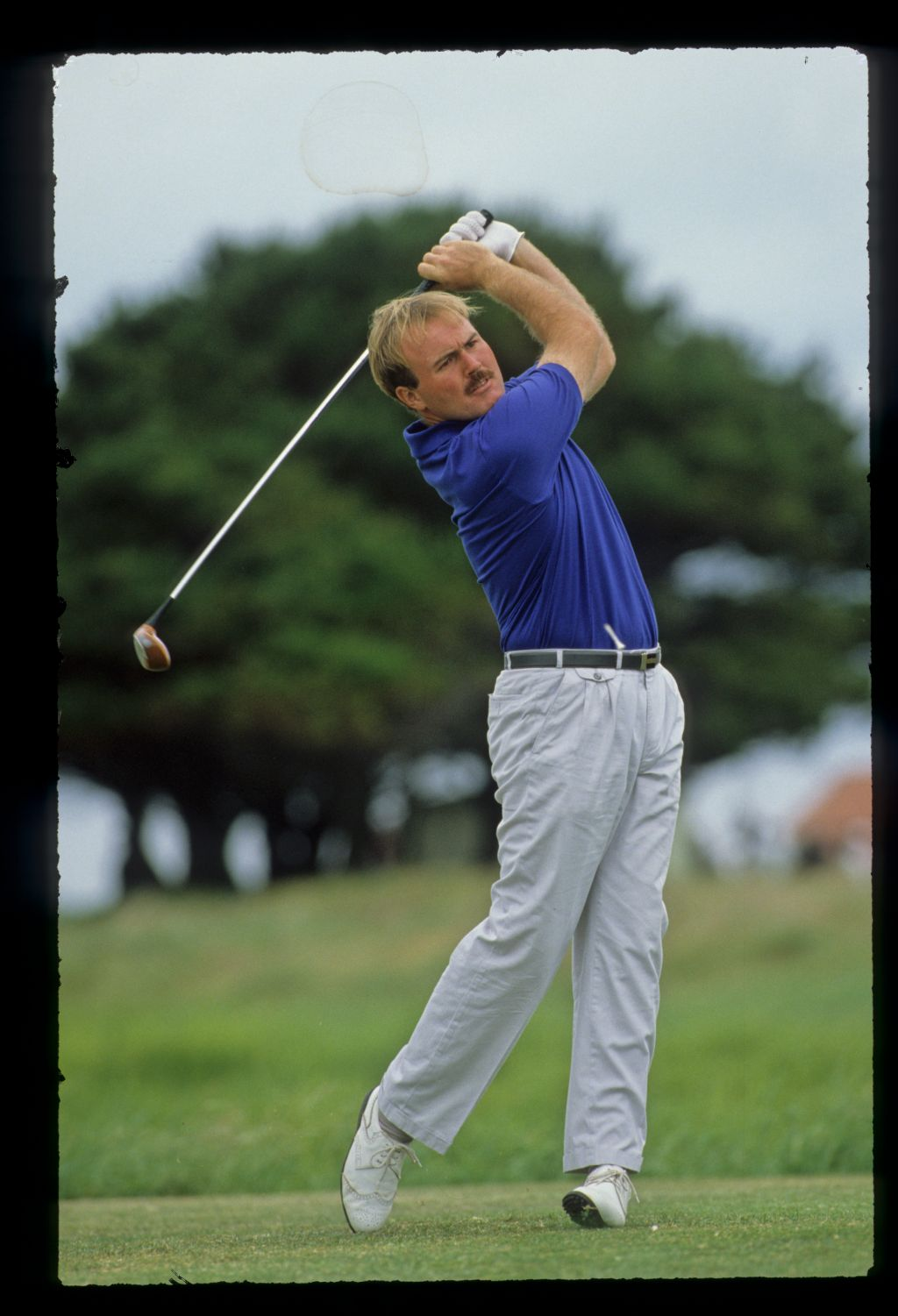 Ronan Rafferty on his way to third place at the 1989 Carroll's Irish Open