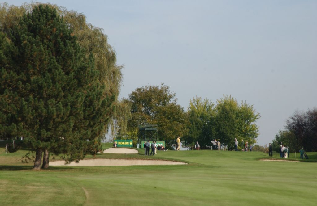 St Nom la Breteche Golf Course during the Tropee Lancome competition.