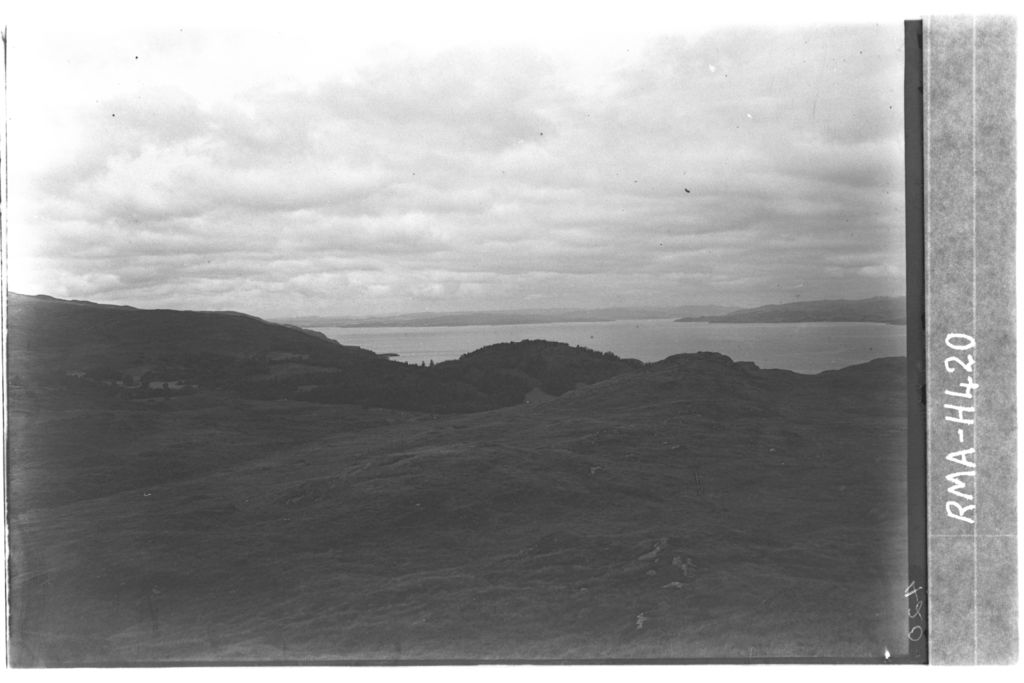 View from above Barfad, Tarbert.