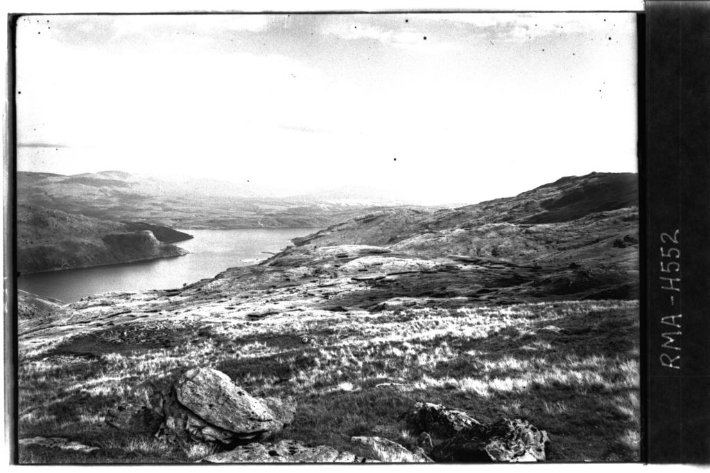 View from Cnoc Coinnich, Cowal.